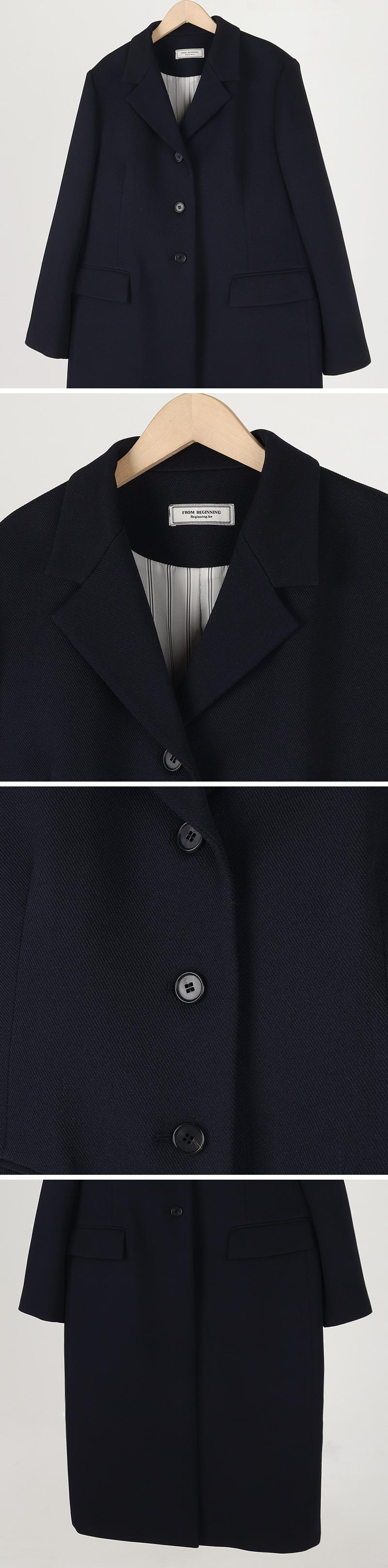 Oblique Taylor Single Coat