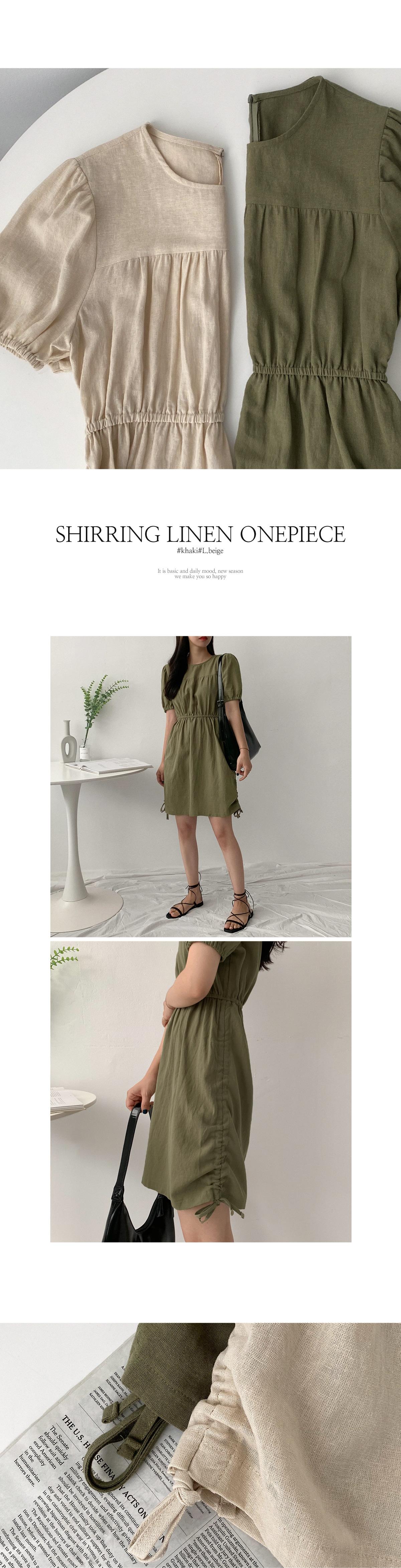 Manelshire Linen Dress