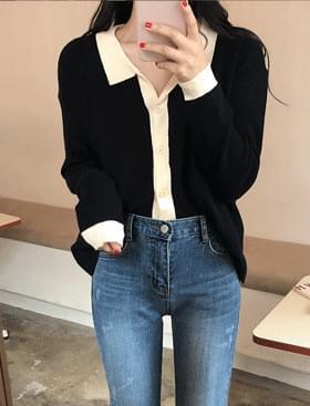 ★Plan ★Aricolor color CD Cardigan/Vest