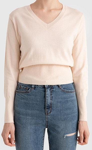 Tension V-neck knit 針織衫