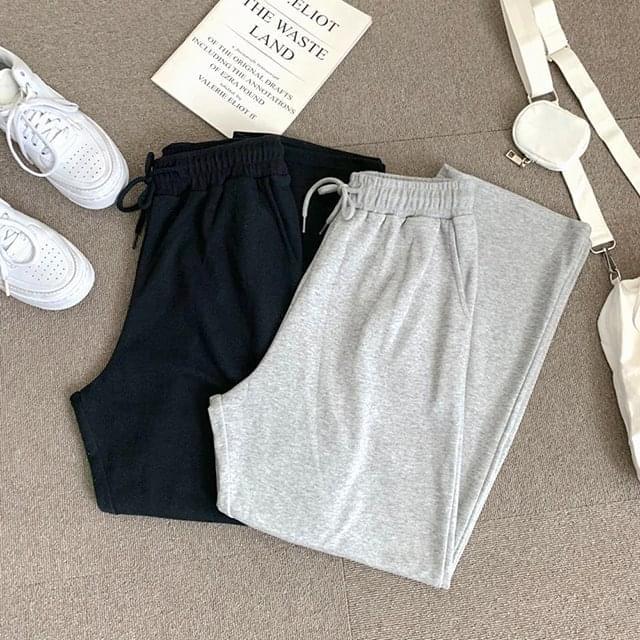 Straight training pants パンツ