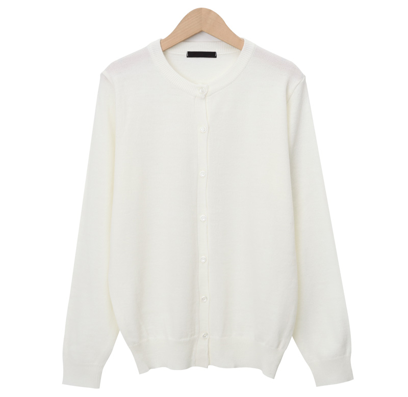 Soft daily button cardigan
