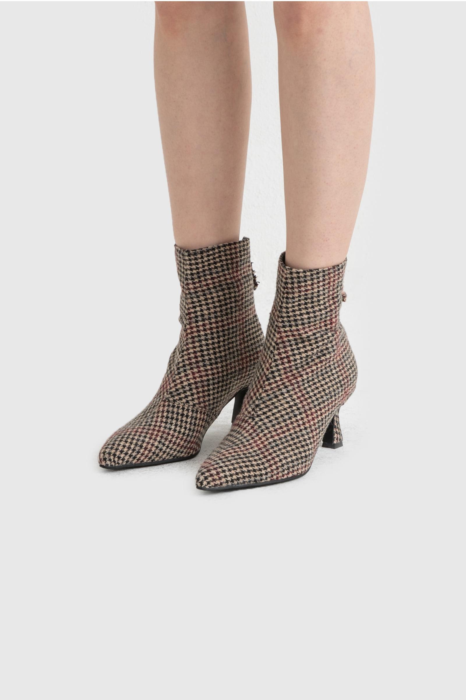 Velita high heel ankle boots