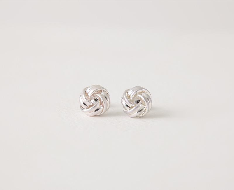 Bold coil earring_C