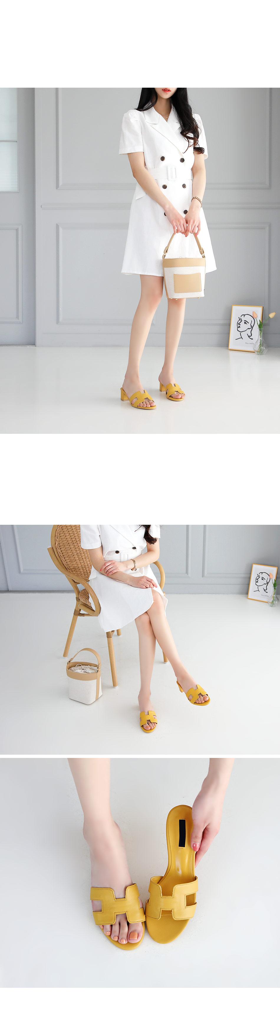 Elapmule slippers 4.5cm