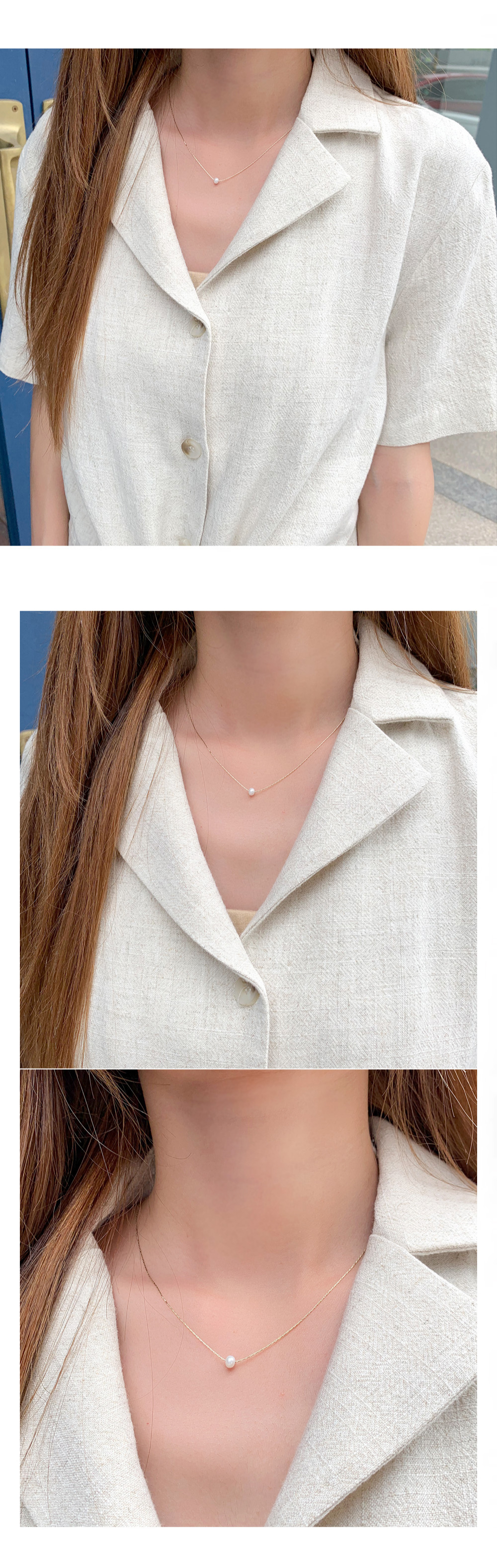 Pearl necklace Necklace