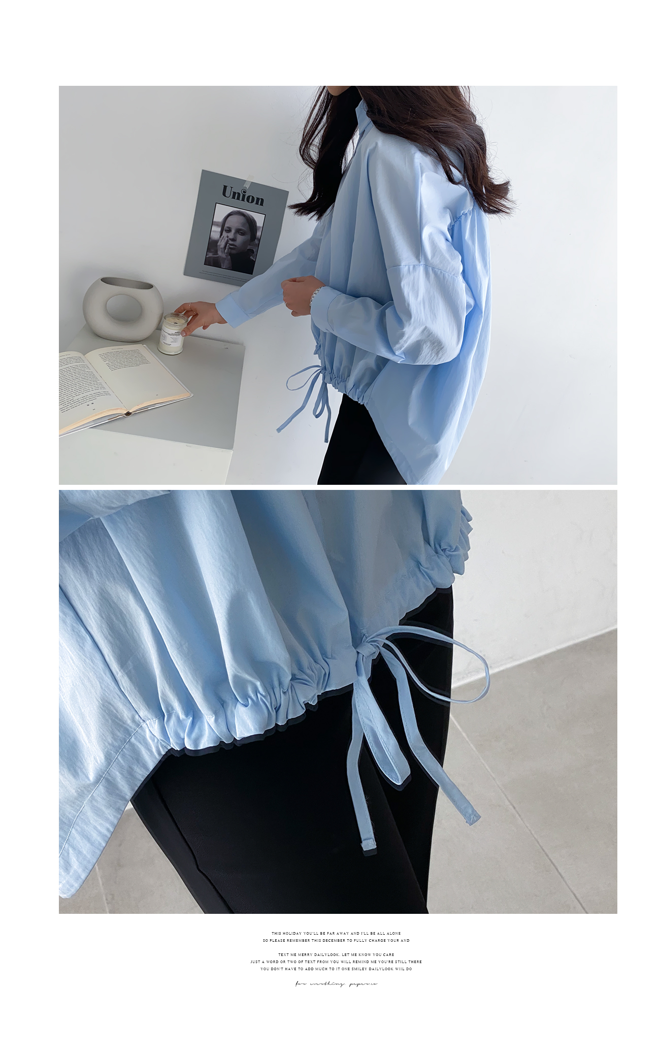 Pastel String Blouse #47672
