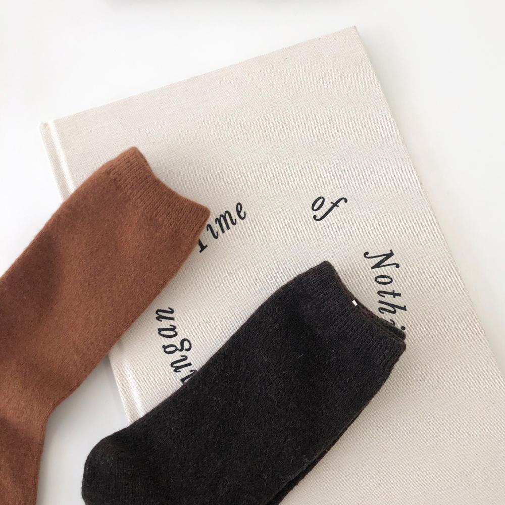 Simple Wool Sox
