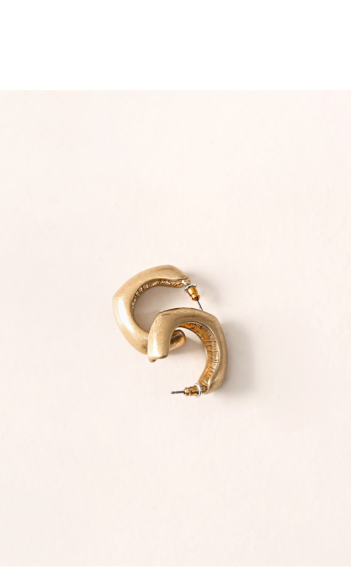 SYNERGY SQUARE BOLD EARRING