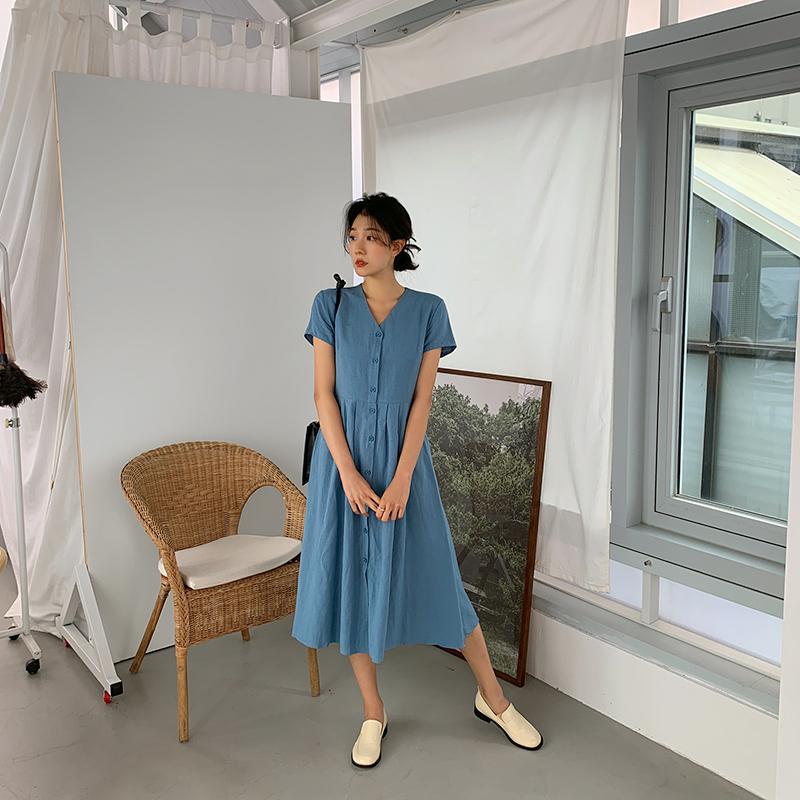 Turnaround Pintuck Long Dress