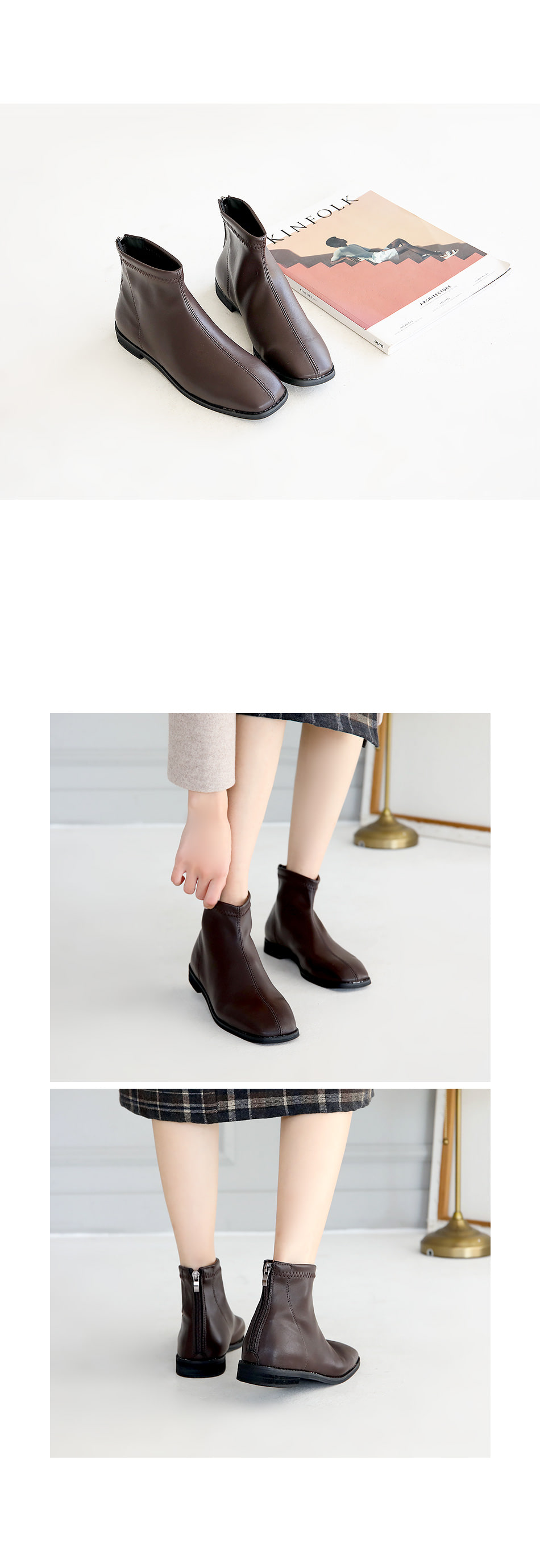 Nabenz Ankle Boots 2cm