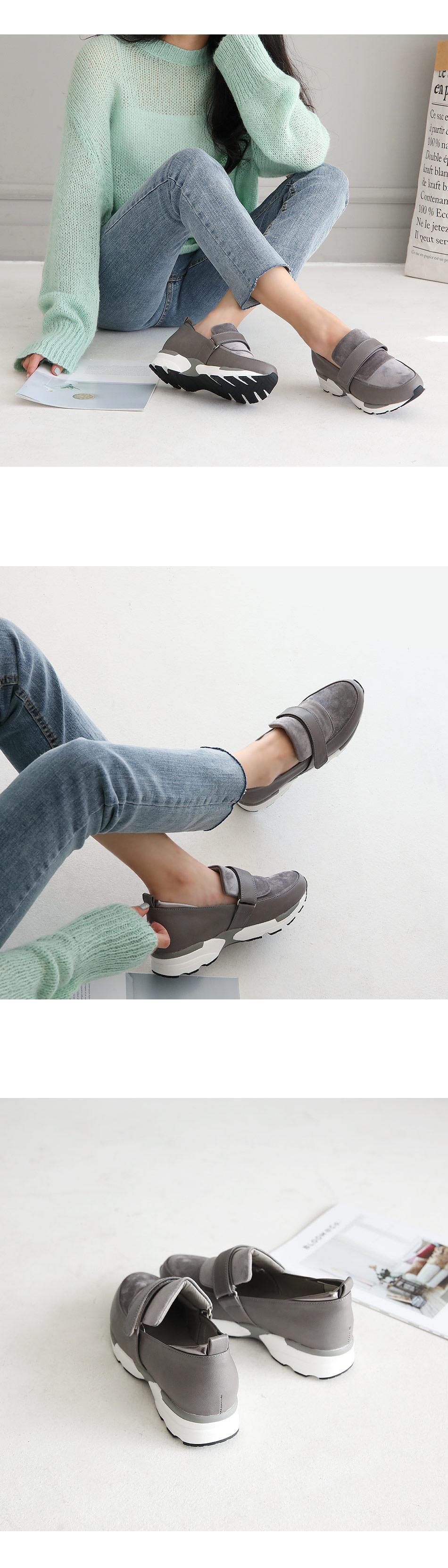 Nyclan Velcro Sneakers 3cm