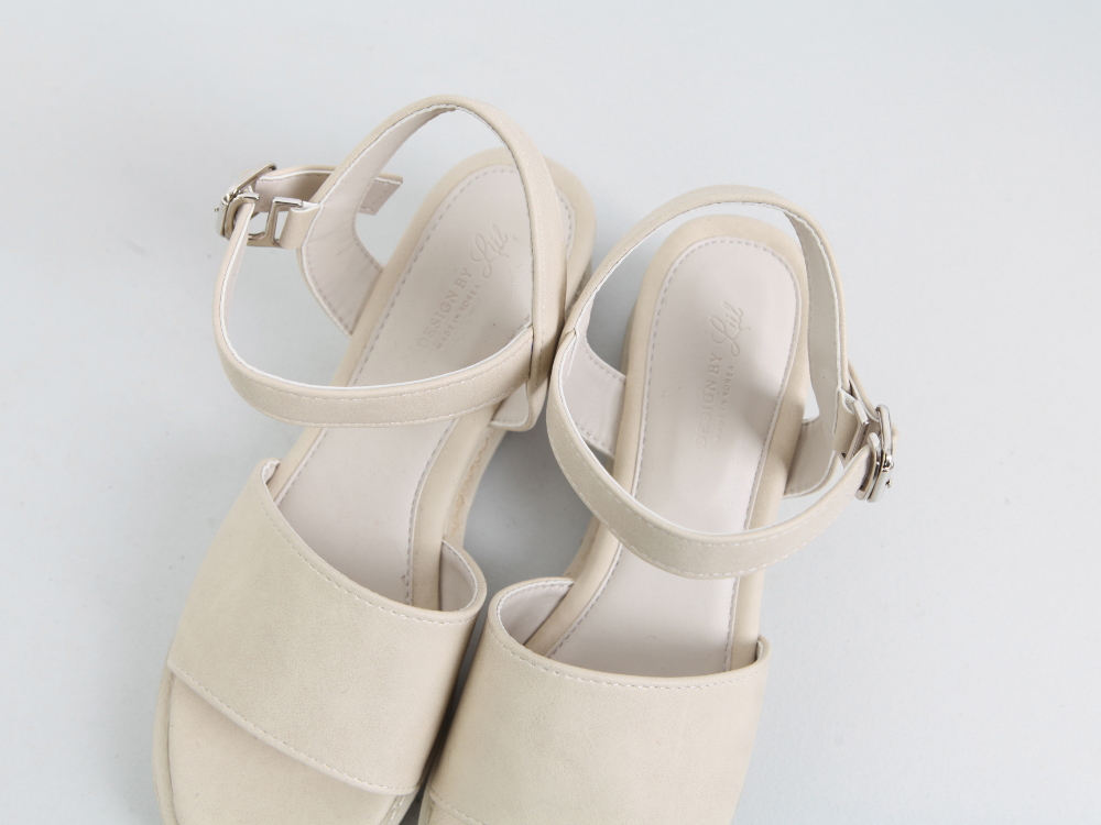 Barney front wedge sandals