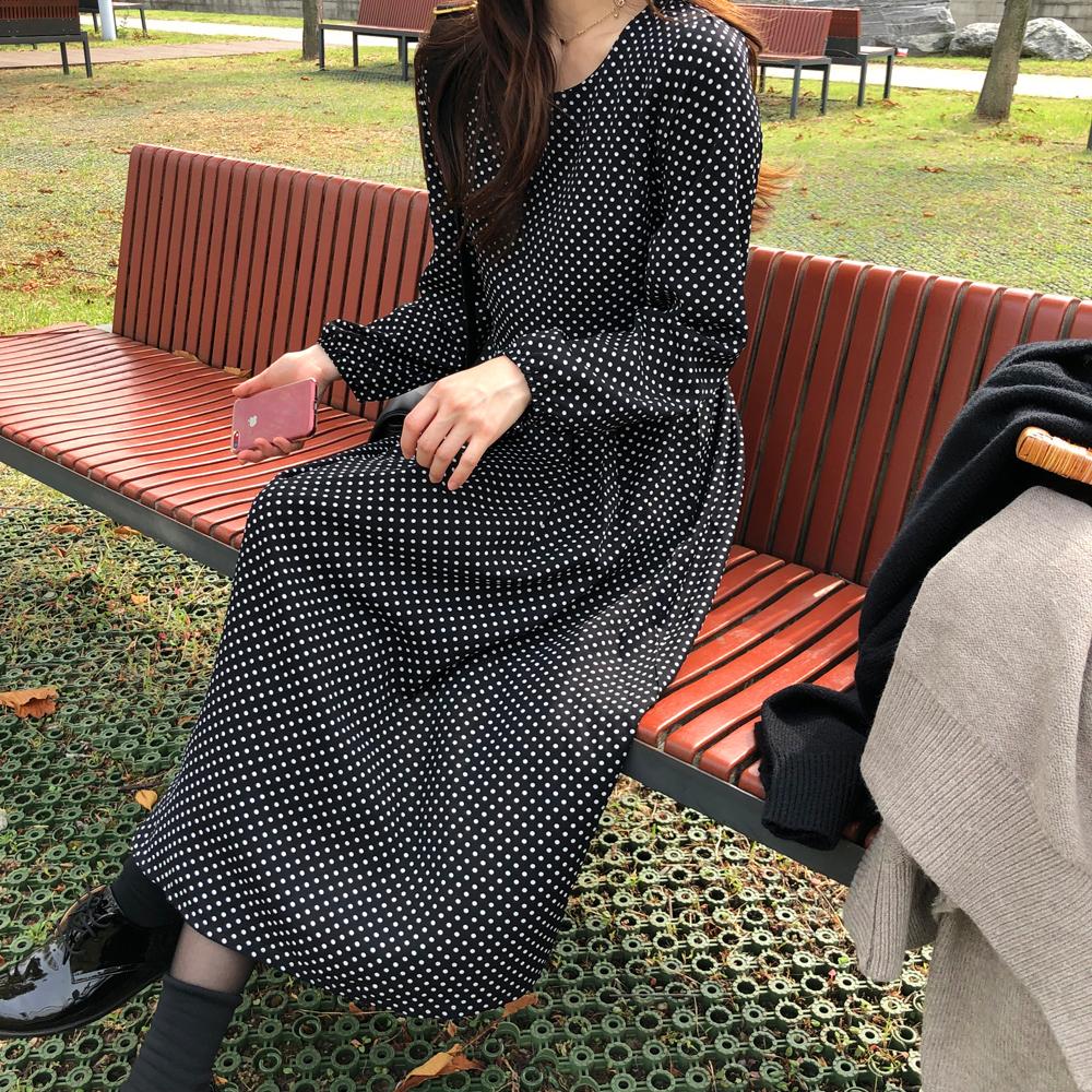Bubble Dot Dress