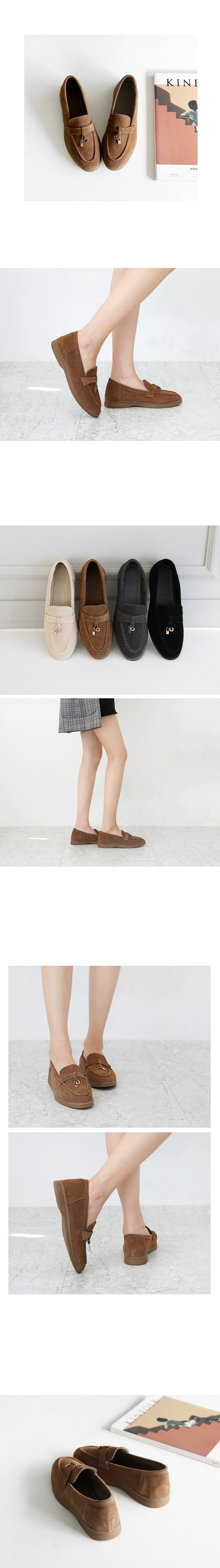 Lepelan Leather Loafers 2cm