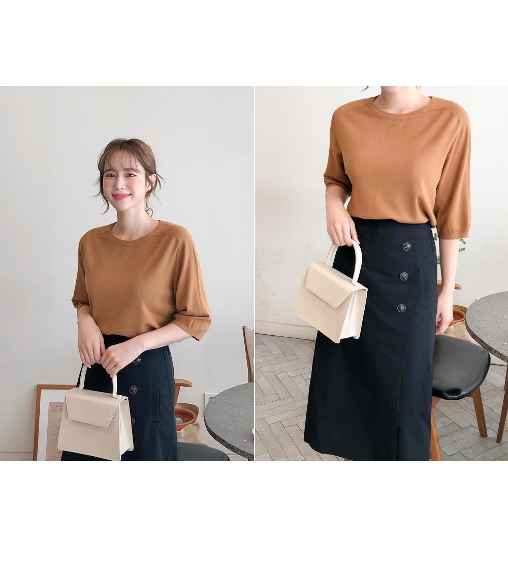 Soft texture knit