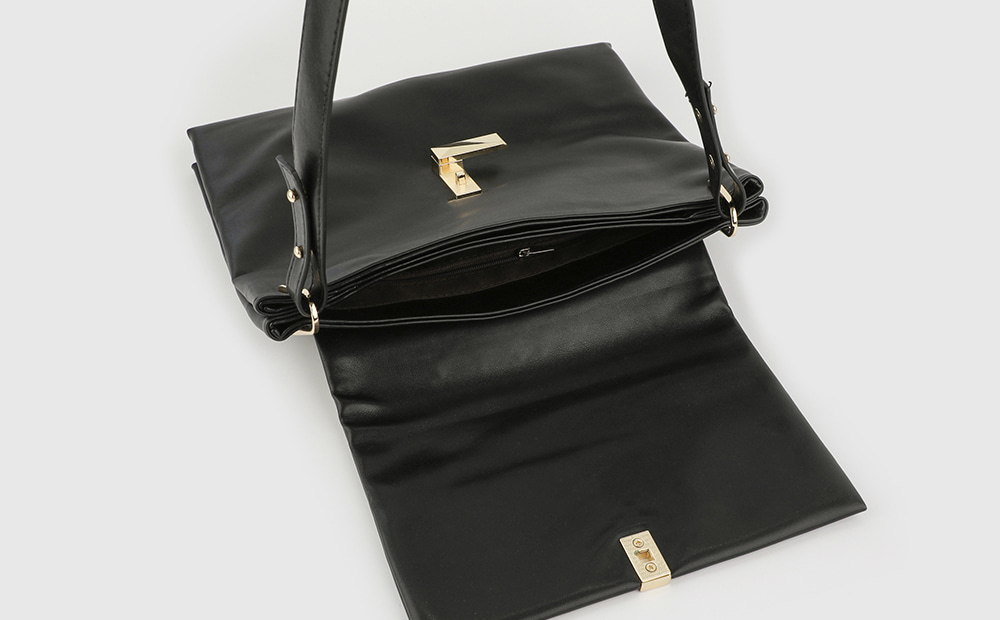 Soft Square Two-way Shoulder Bag