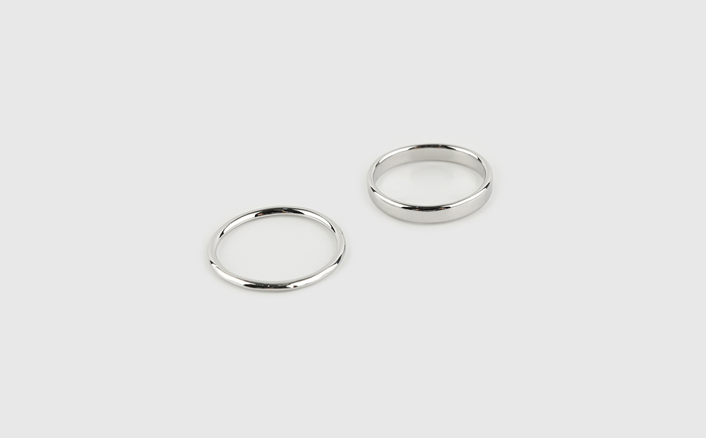 Color clear set ring