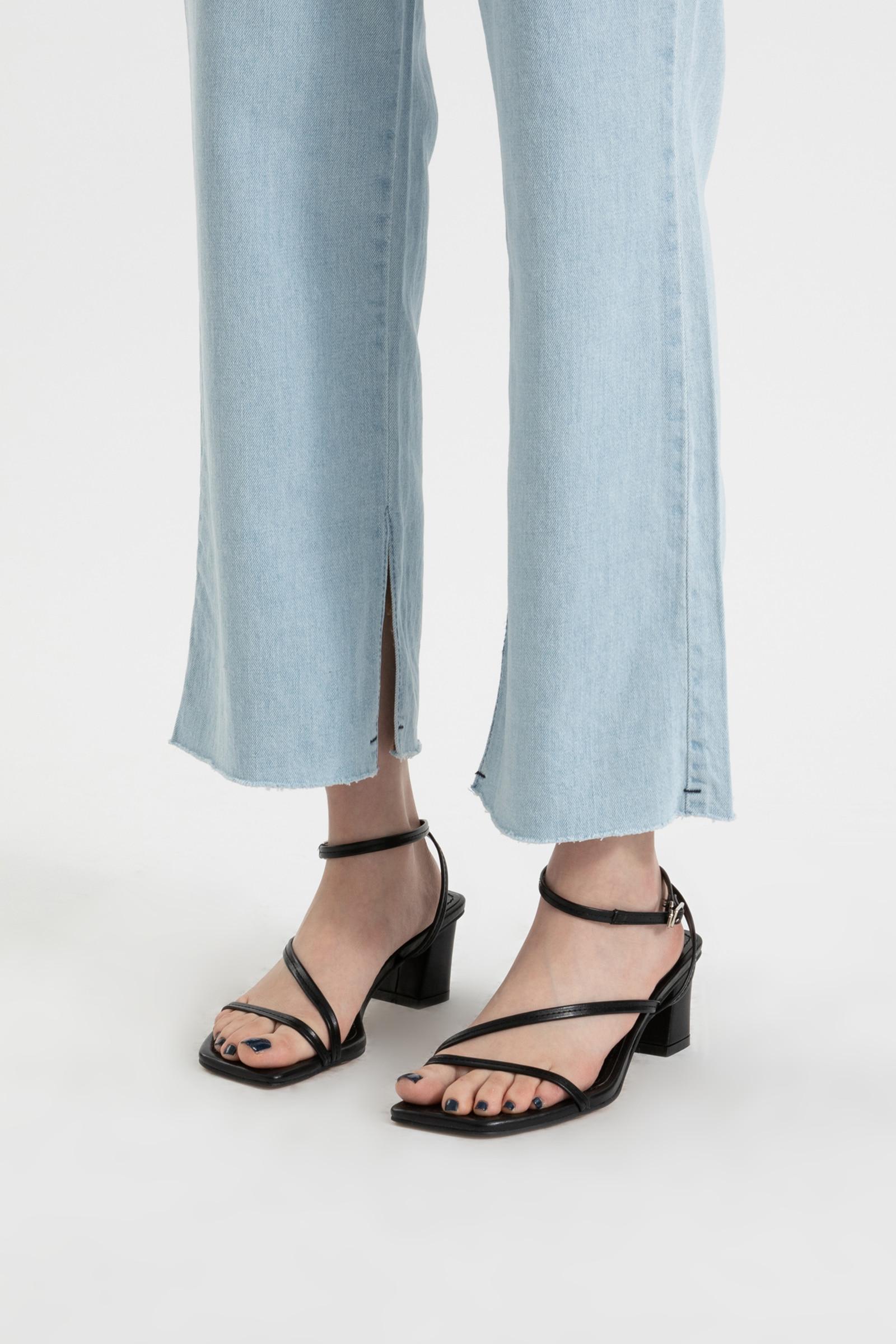 Ravi strap middle heel sandals