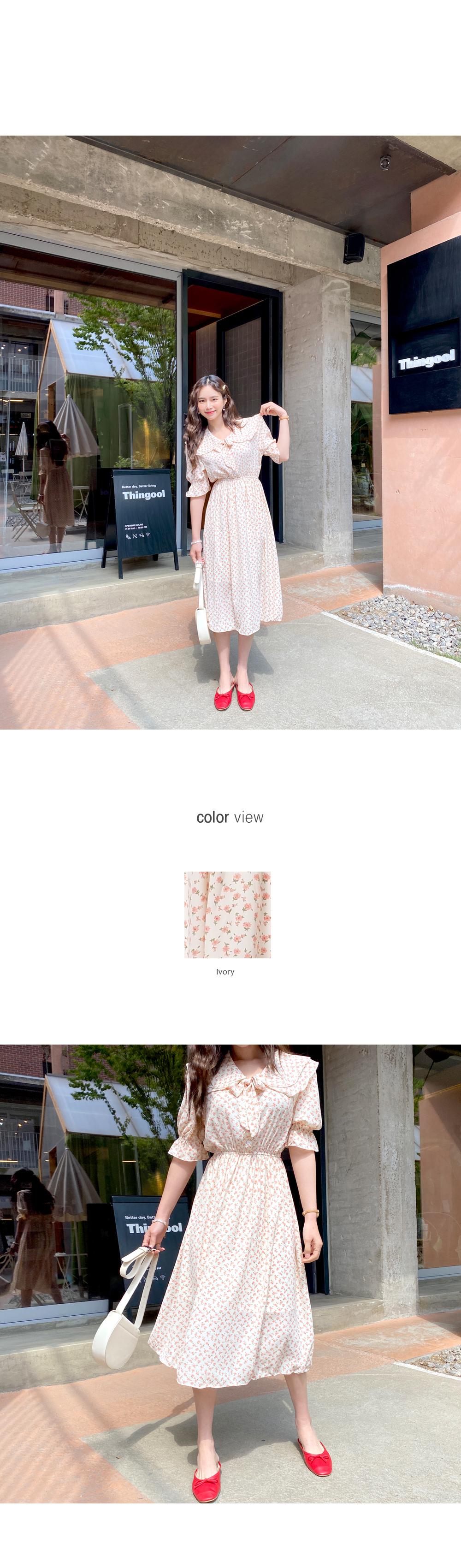 Lovely Girl Flower Color Dress