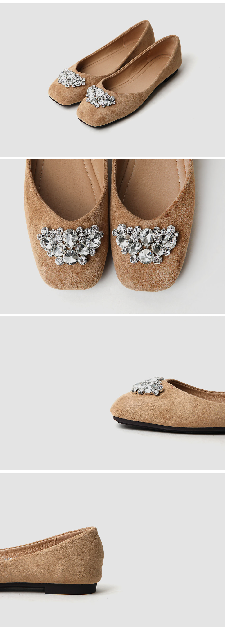 Noenz Flat Shoes 1cm