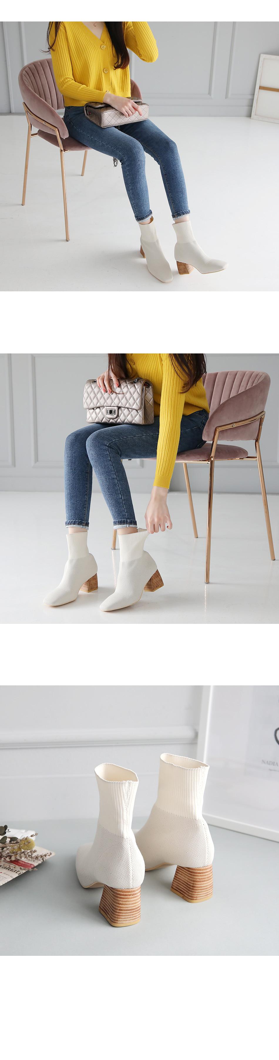 Encaron Sachs Ankle Boots 6cm