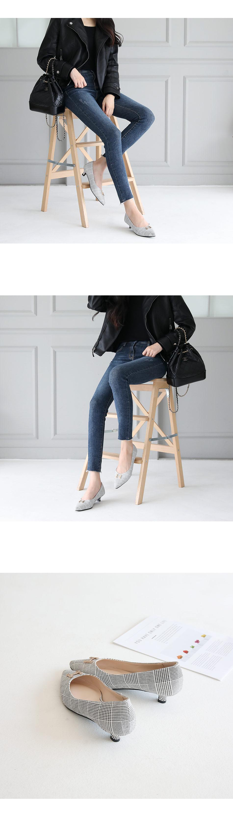 Elean Flat Shoes 3cm