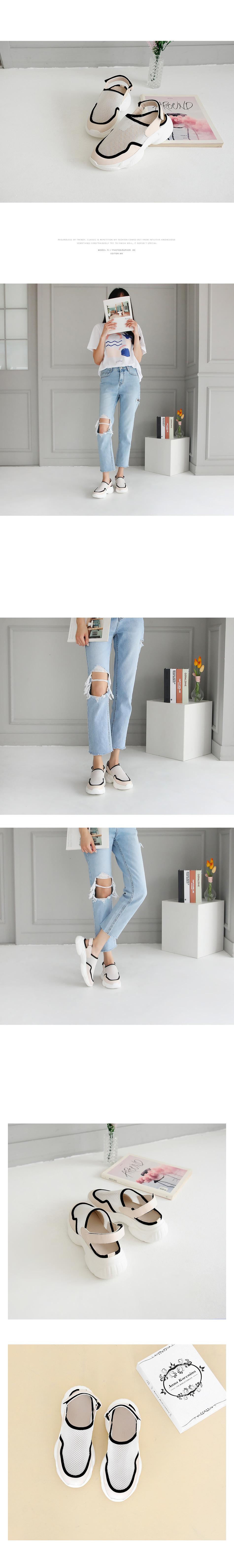 Tailon slip-on sandals 5cm
