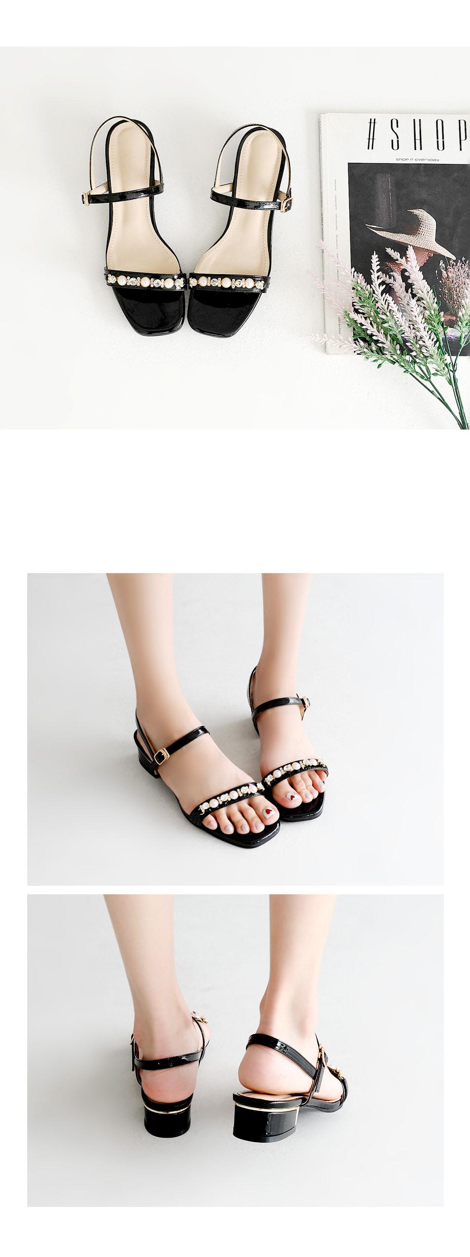 Lacey Slingback Sandals 3cm