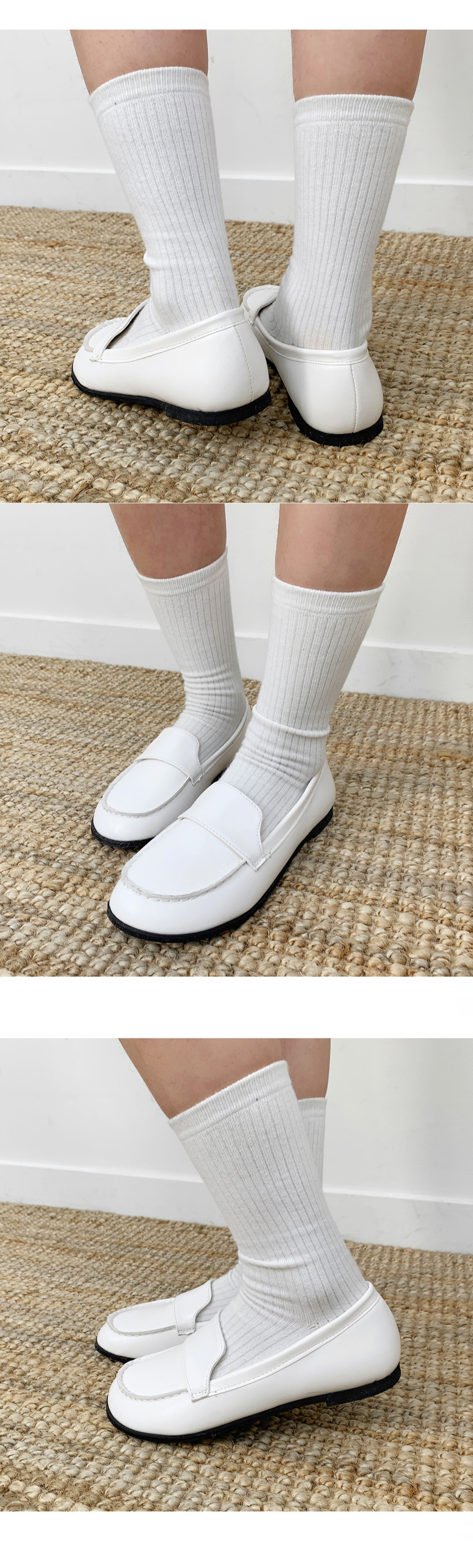 Dumpling round loafers