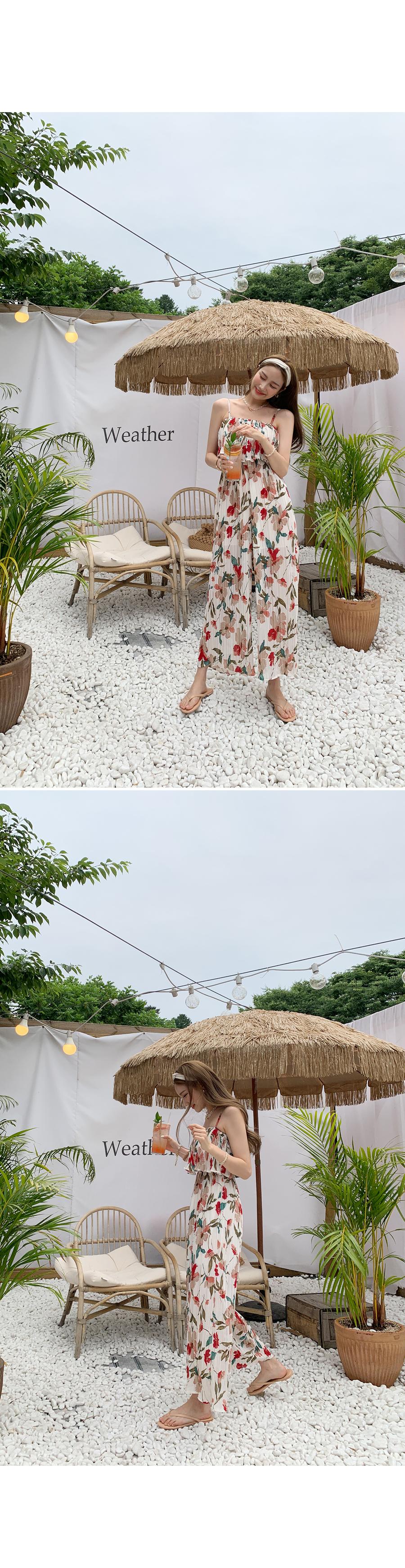 Summer Sunday Pattern Jumpsuit