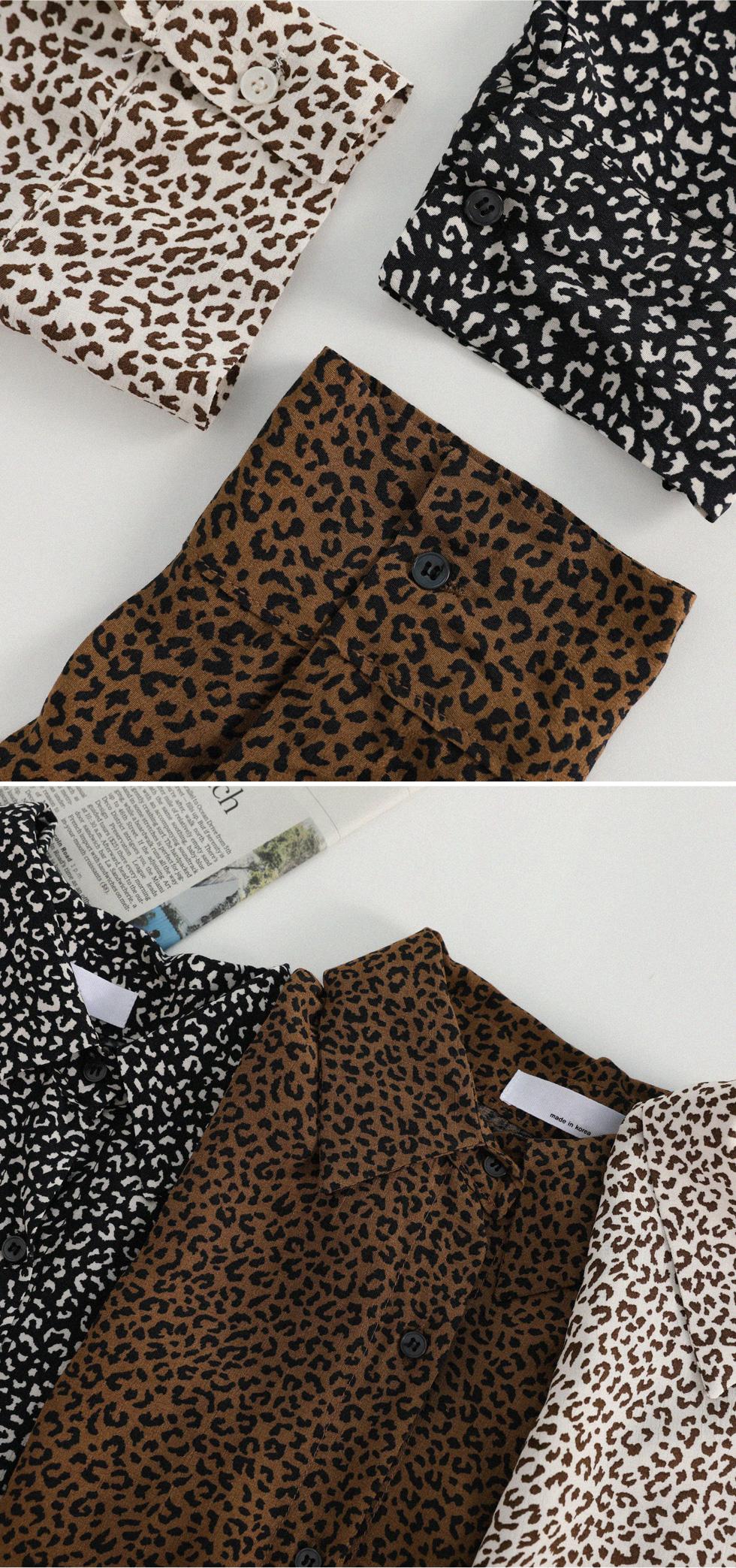Nets Leopard Blouse
