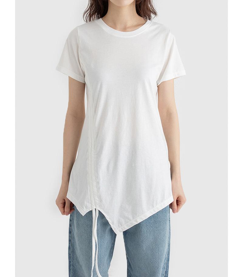 First string round neck T-shirt