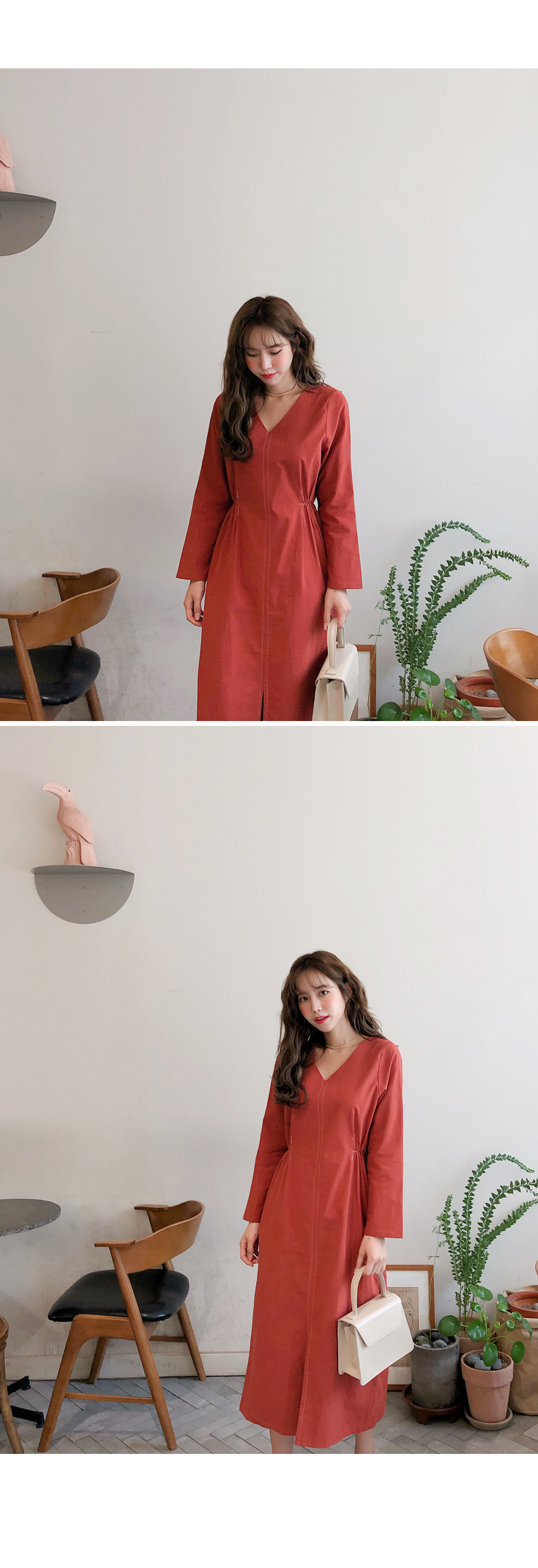 Simple basic long dress