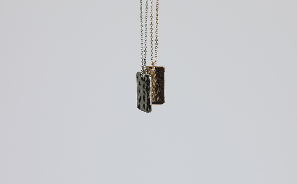 Army Pendant Long Necklace
