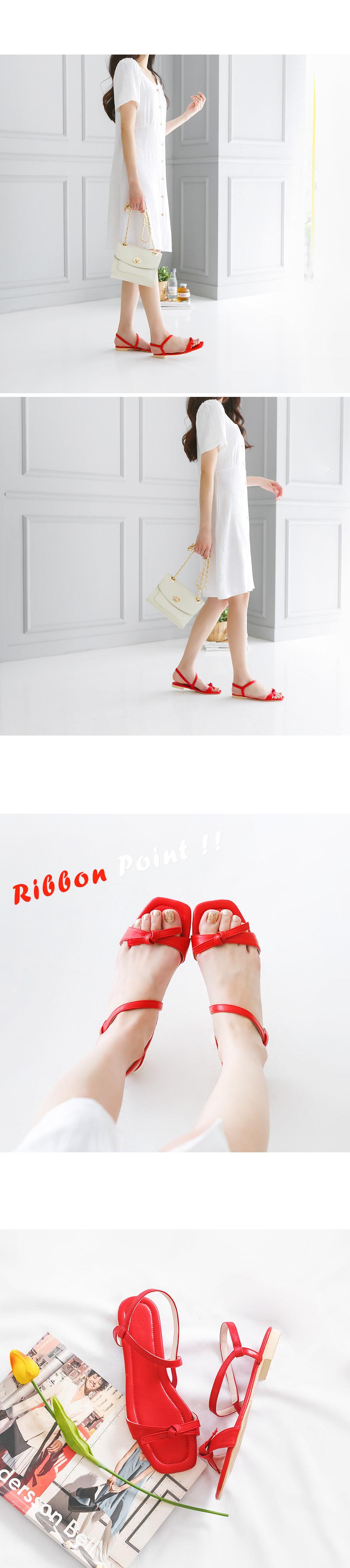 Ritelon Slingback Sandals 1.5cm