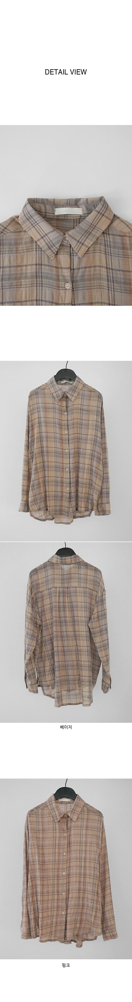 fade check shirt