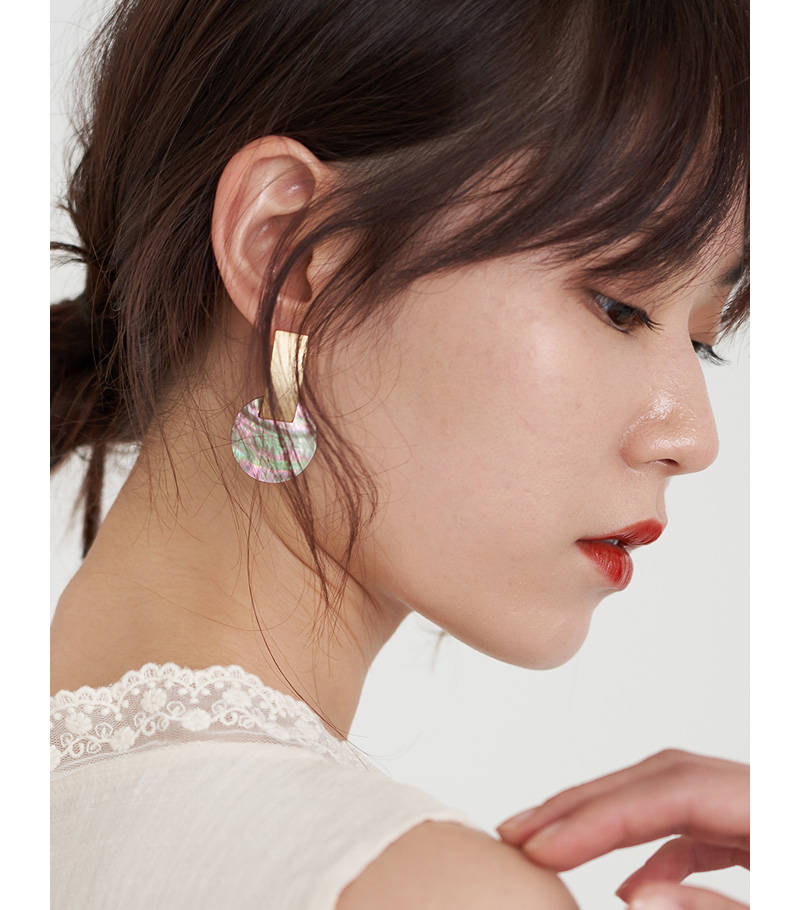 Narcissus gold earrings