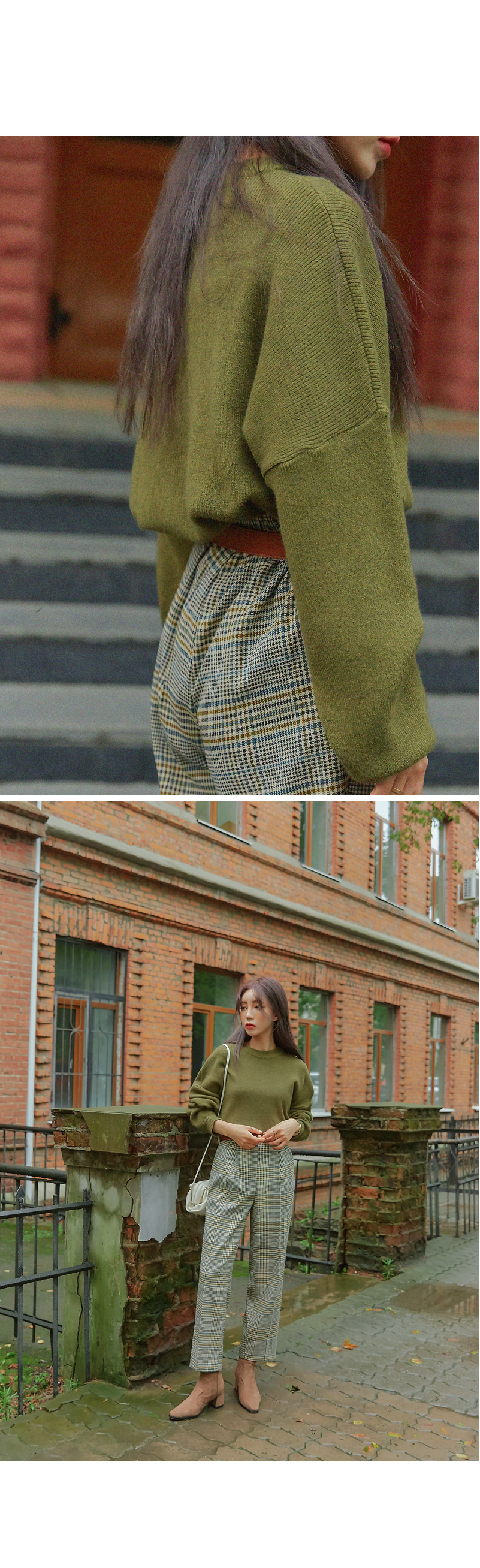 COLBY SOFT ROUND NECK LOOSE KNIT