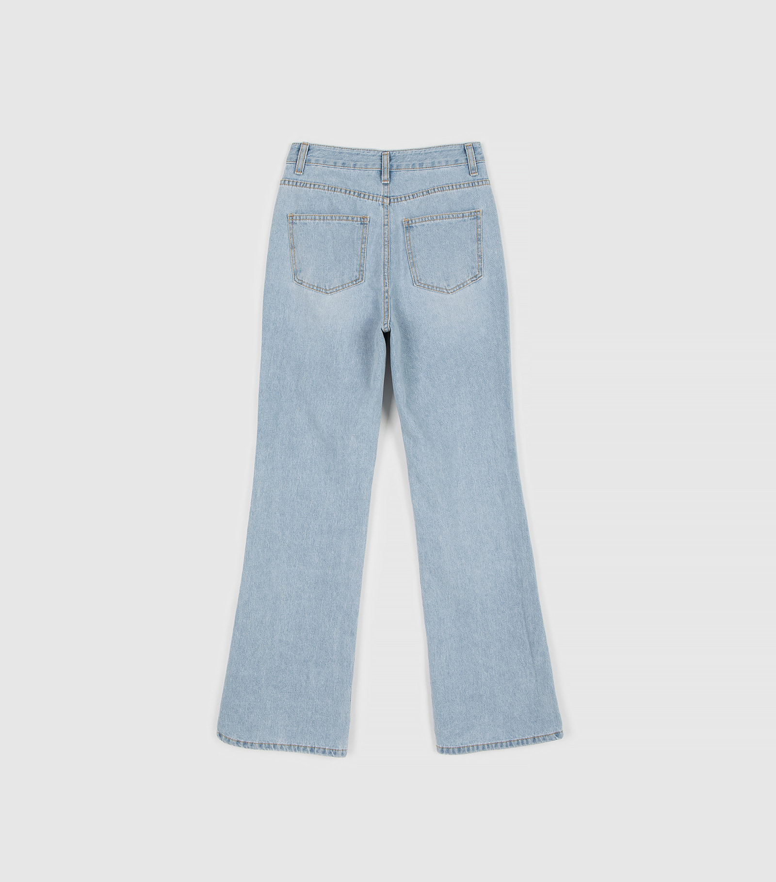 Tommy high-rise bootcut jeans