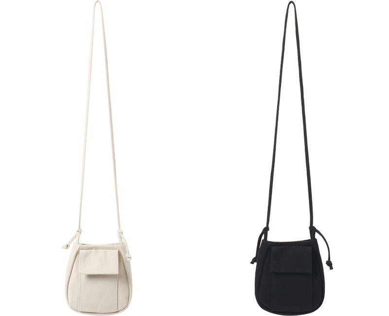 Water Drop Canvas Cross Bag