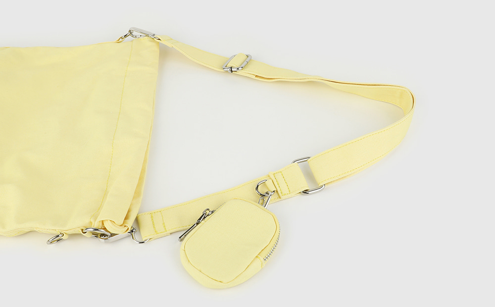 Summer cotton pouch shoulder bag