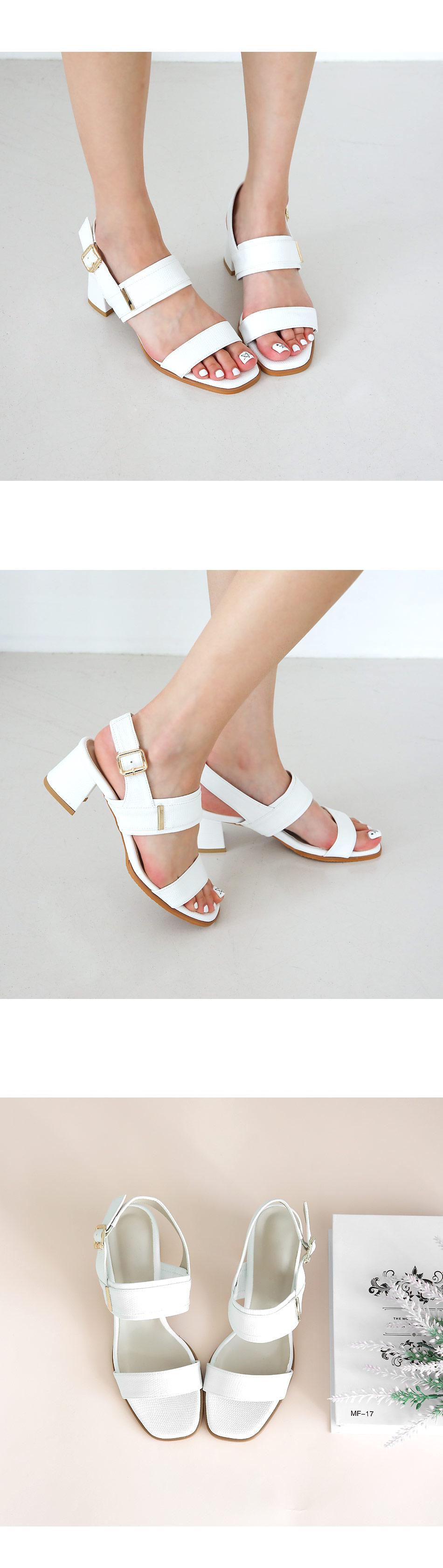 Rugens Slingback Sandals 5cm