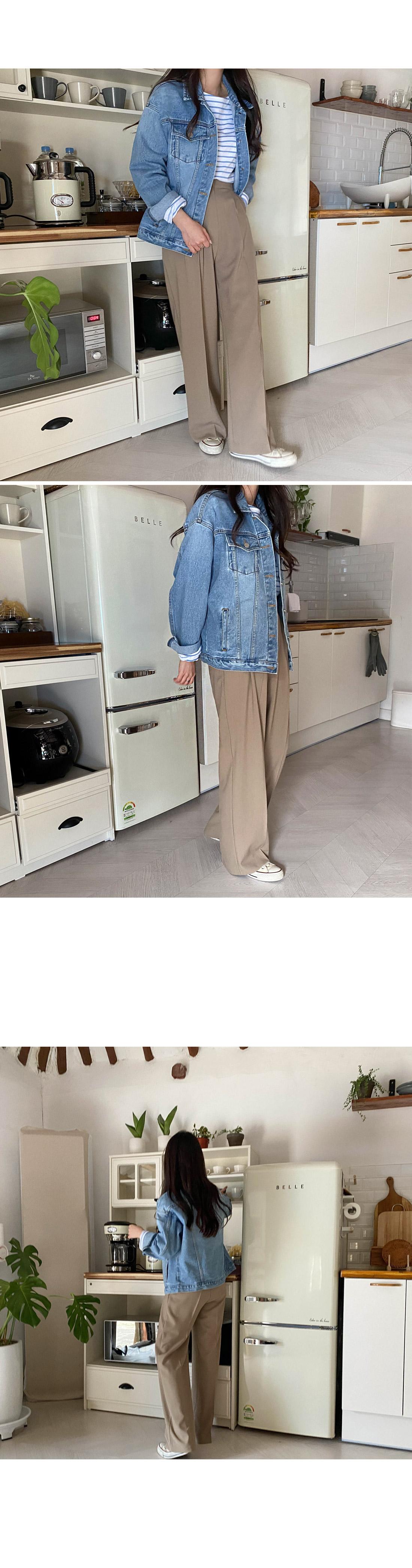 Jerry loose-fit denim jacket