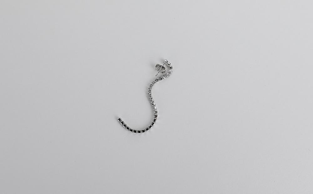 Get Ready Cubic Drop Earrings