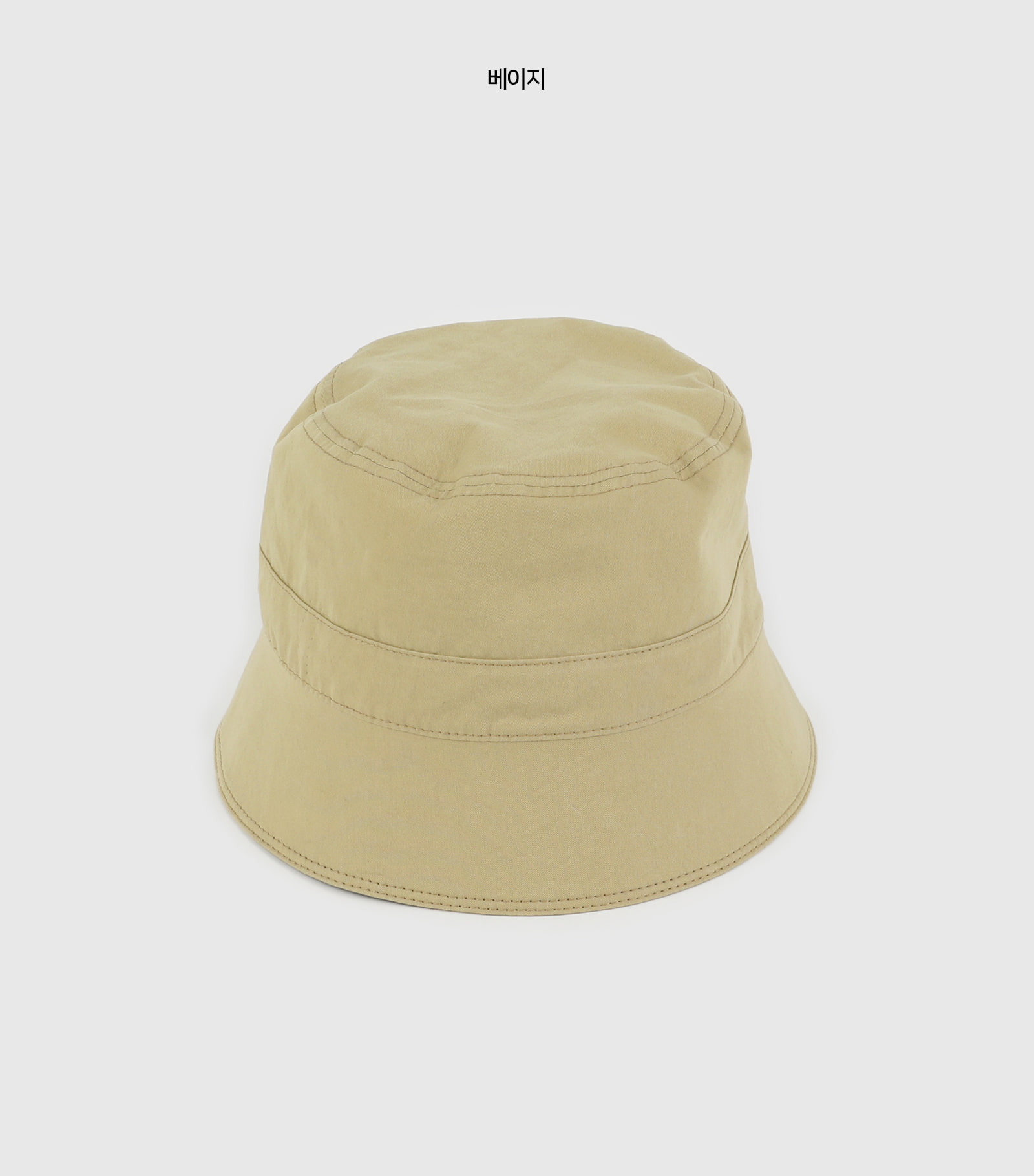 Soft simple bucket hat