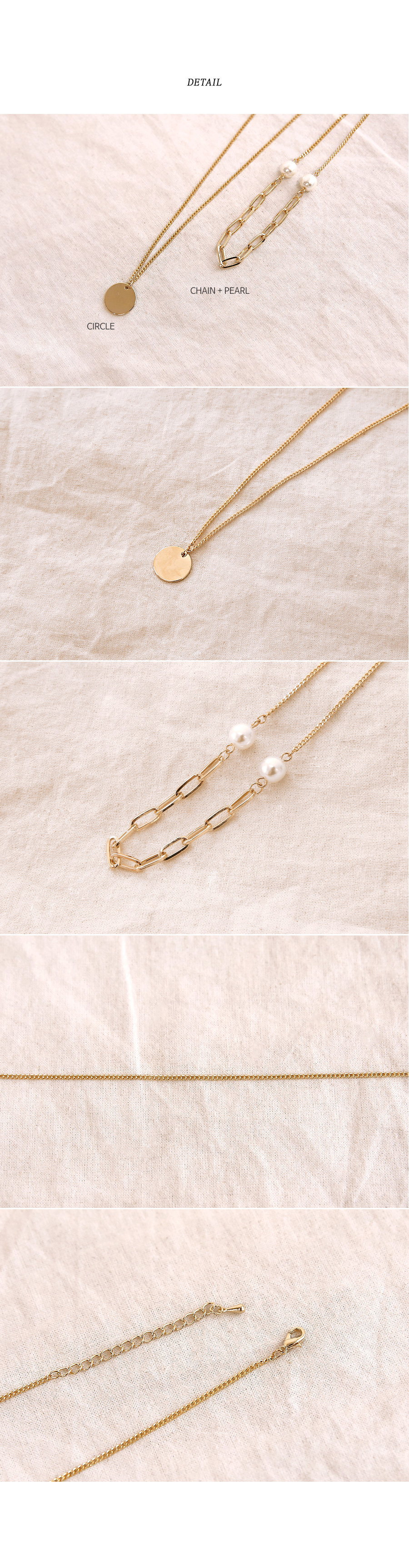 LEANG PEARL LAYERED NECKLACE