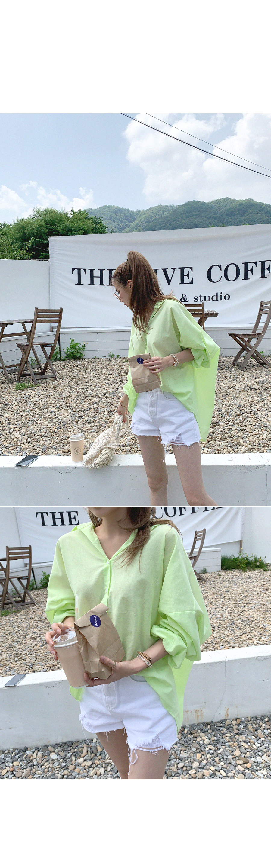 Cool Hanloose Fit Puff shirt
