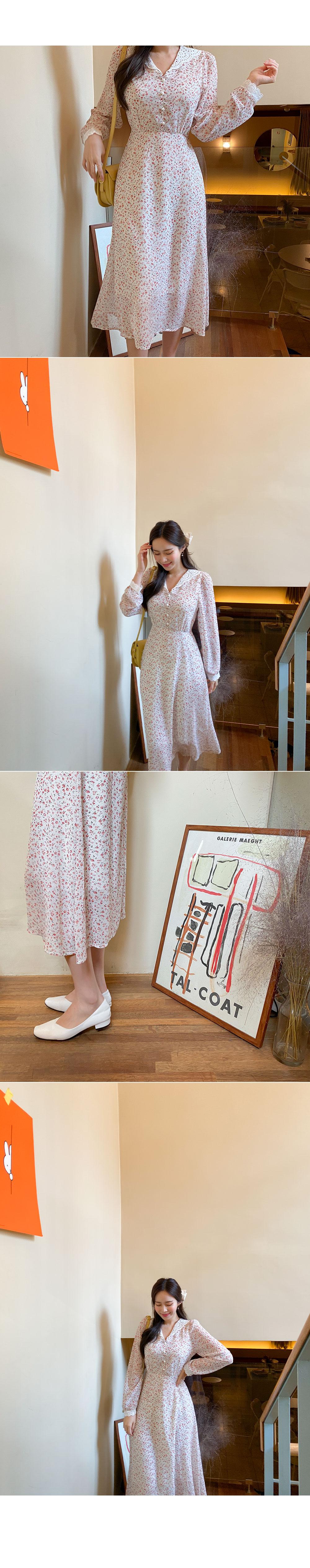 Color Race Point Dress