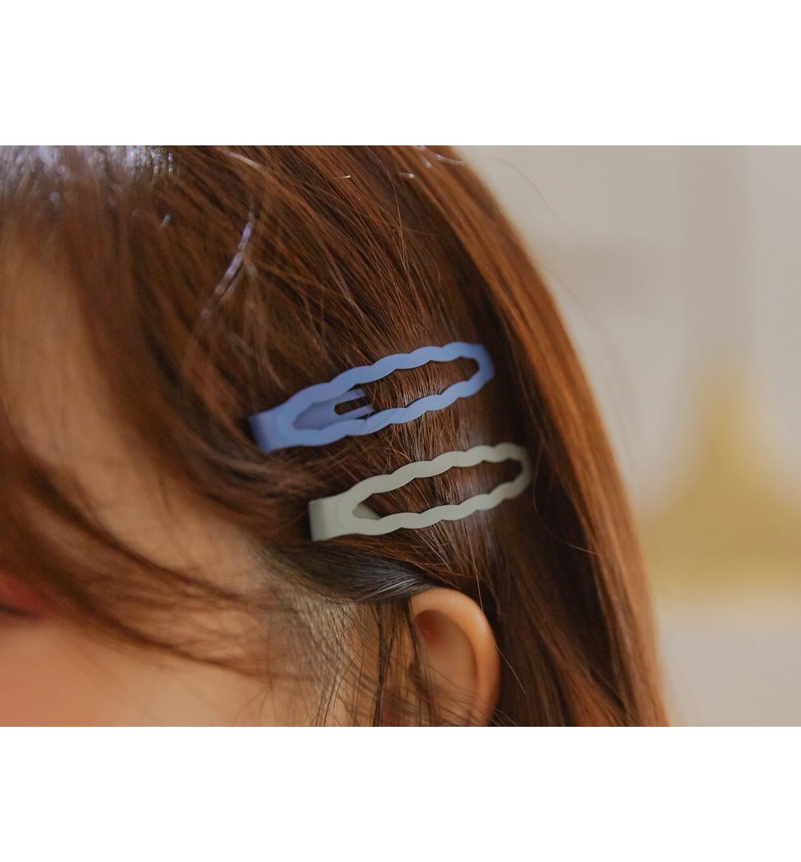 Wavy Edge Hair Clip